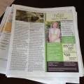 Hazel Family Eyecare featured in The Current Newspaper