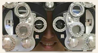 Eye exam in Roswell GA